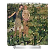 The Happy Valley, 1898 Shower Curtain