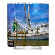 The Harbor II Shower Curtain