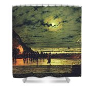 The Harbour Flare Shower Curtain