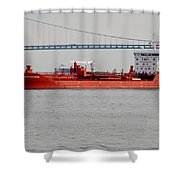 The Harbour Progress Shower Curtain