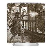 The Hauhaus Shot Or Bayoneted Them - Shower Curtain