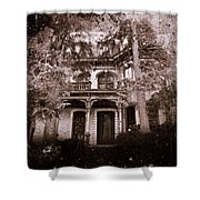 The Haunting Shower Curtain by David Dehner