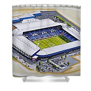 The Hawthorns - West Bromwich Albion Fc Shower Curtain