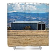 The Hay Shed Shower Curtain