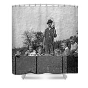 The Hayride Shower Curtain