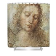 The Head Of Christ Shower Curtain