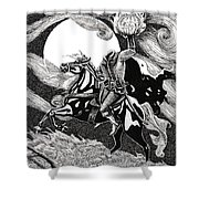 the Headless Horseman Shower Curtain