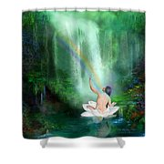 The Healing Place Shower Curtain