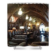 The Hearst Castle Shower Curtain