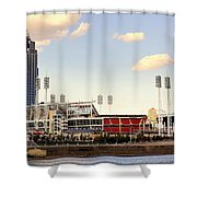 The Heart Of Cincinnati  Shower Curtain