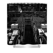 The Heart Of San Francisco Cable-car Shower Curtain by RicardMN Photography