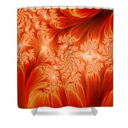 The Heat Of The Sun Shower Curtain