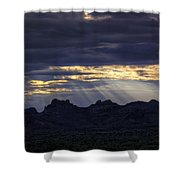 The Heavenly Light  Shower Curtain