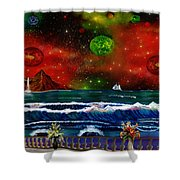 The Heavens Shower Curtain