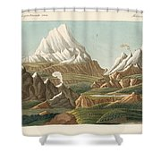 The Heights Of The Old And New World Shower Curtain