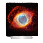 The Helix Nebula Shower Curtain
