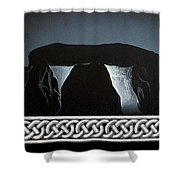 The Hellstones Shower Curtain
