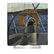 The Helm Shower Curtain