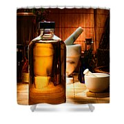 The Herbal Shop  Shower Curtain