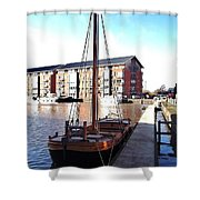 The Hereford Bull 1 Shower Curtain