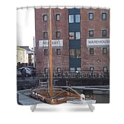 The Hereford Bull Shower Curtain