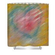 The Hidden Heart Shower Curtain