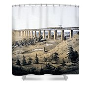 The High Bridge Near Farmville, Prince Shower Curtain