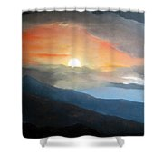 The Highest Point Shower Curtain