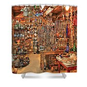 The Highway 441 Roadside Gift Shop Shower Curtain