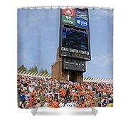 The Hill At Scott Stadium Uva Shower Curtain