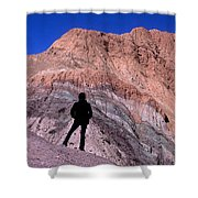 The Hill Of Seven Colours Jujuy Argentina Shower Curtain