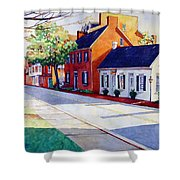 The Historic District Shower Curtain