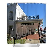 The Historic Excelsior Hotel Jefferson Texas Shower Curtain