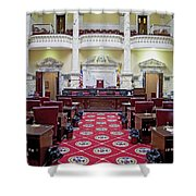 The Historic House Chamber Of Maryland Shower Curtain