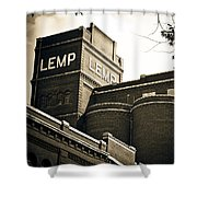The Historic Lemp Brewery Shower Curtain