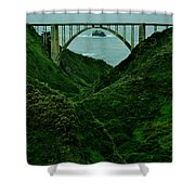 The Historic Pch Shower Curtain