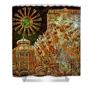 The History Of Consciousness Shower Curtain