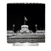 The Ho Chi Minh Mausoleum In Hanoi Shower Curtain