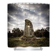 The Holestone Shower Curtain