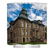 The Holmes County Courthouse Shower Curtain