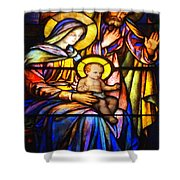 The Holy Child Shower Curtain