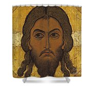 The Holy Face Shower Curtain