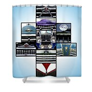 The Holy Grille Shower Curtain