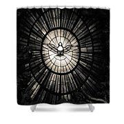 The Holy Spirit As A Dove Shower Curtain
