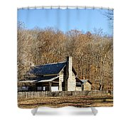 The Homeplace - Main House Shower Curtain