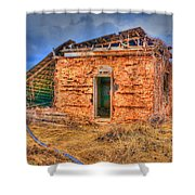 The Homestead 3 Shower Curtain