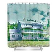 The Homestead Shower Curtain