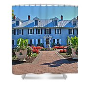 The Homestead Birthplace Of Milton Hershey Shower Curtain