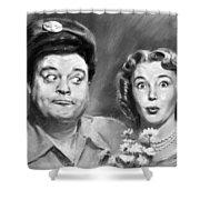 The Honeymooners Shower Curtain
