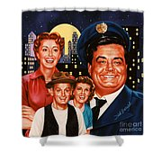 The Honeymooners Shower Curtain